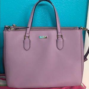 Lavender Large Kate Spade bag